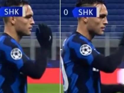"""Lautaro Martinez e il """"gestaccio"""" a Conte. Ecco cos'ha fatto l'argentino"""
