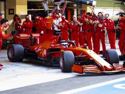 Vettel, il toccante saluto alla Ferrari e ai suoi tifosi