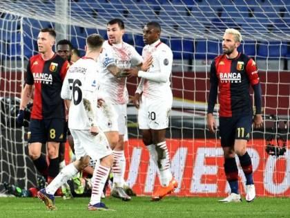 Milan fermato dal Genoa. Resta in vetta ma l'Inter è a -1