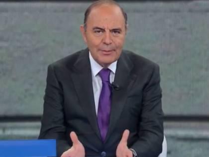 Sanremo sfora e Porta a Porta va in onda tardi. Bruno Vespa sbotta