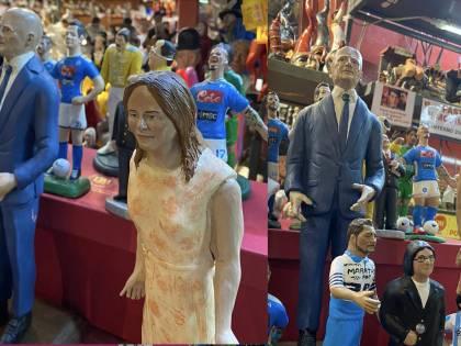 L'omaggio al direttore Sallusti nel presepe di San Gregorio Armeno