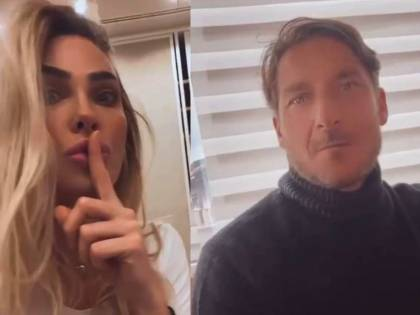 """Tu hai dei problemi"": scintille a Natale tra Ilary e Totti"