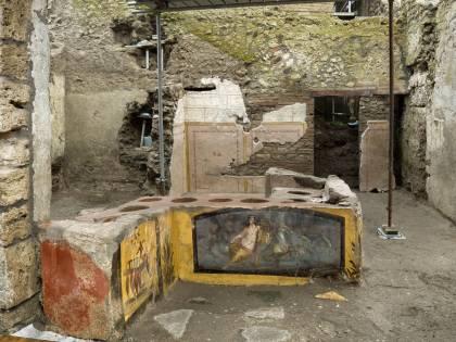 Street food nell'antica Pompei