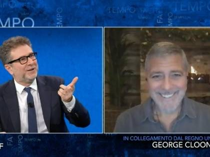 """""""Fazio ha pagato 150mila euro per George Clooney?"""", l'indiscrezione che imbarazza la Rai. Ma viale Mazzini smentisce"""