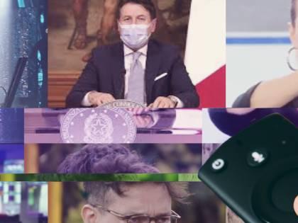 """Dal """"dov'è Bugo?"""" allo """"smartworki"""" di Conte: il 2020 visto dagli occhi della tv"""