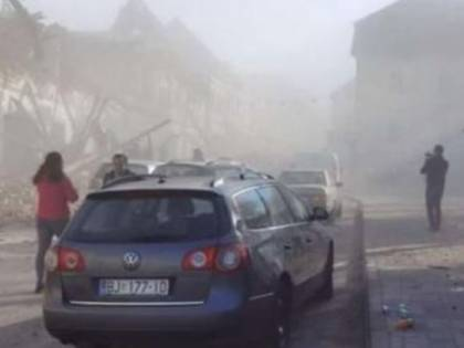 Forte terremoto in Croazia, edifici crollati e almeno 6 morti