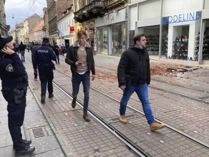Forte sisma in Croazia, edifici distrutti. Morta una bimba