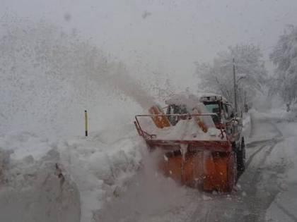 Garfagnana, 5mila persone senza luce elettrica a causa delle forti nevicate