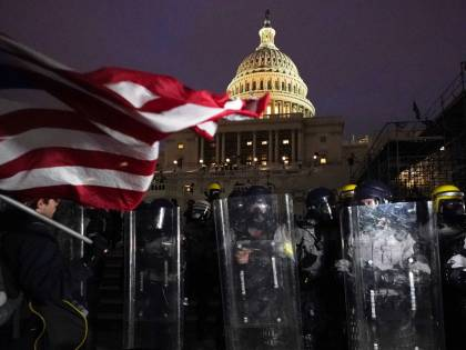 Under Siege: Trump Supporters Storm the Capitol