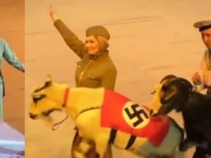 """""""La scimmia ha l'uniforme nazista"""". Bufera per lo spettacolo del circo"""