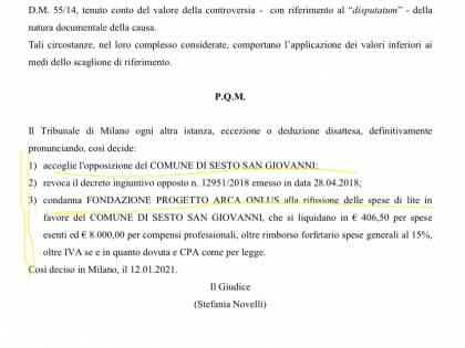 """Il giudice dà ragione al Comune. Di Stefano: """"Solite irregolarità di Pd e compagni"""""""