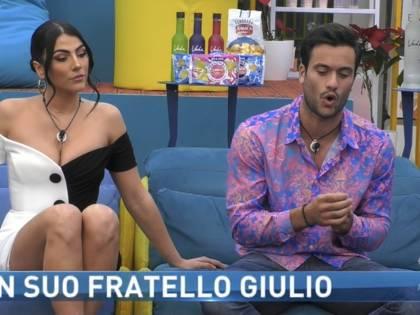 """Gf Vip, dramma familiare tra Pierpaolo Pretelli e suo fratello per Giulia: """"Sono molto deluso, esco"""""""