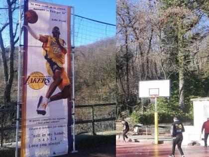 Cireglio ricorda Kobe Bryant: il campetto dove iniziò a sognare