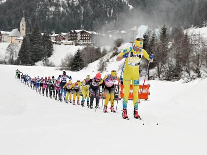 La Marcialonga non si ferma, domenica 2mila atleti in gara nelle valli di Fiemme e Fassa