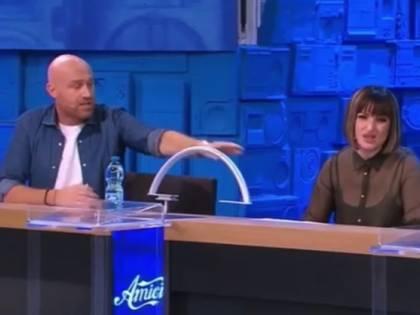 """Amici, volano stracci tra Rudy Zerbi e Arisa: """"Maria, licenziami"""""""