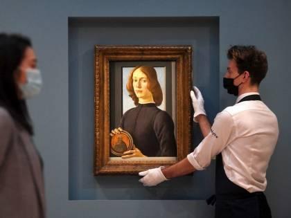 Botticelli superstar. Ritratto di giovane pagato 92,2 milioni