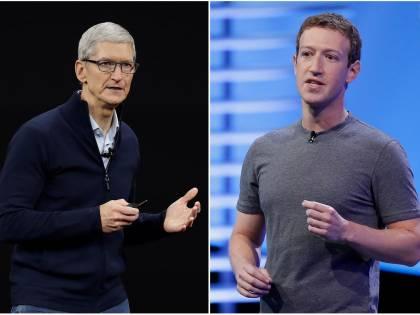 Silicon Valley, è guerra fra Apple e Facebook sulla privacy