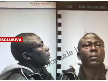 Il ghanese dà in escandescenze e rompe il naso a una poliziotta