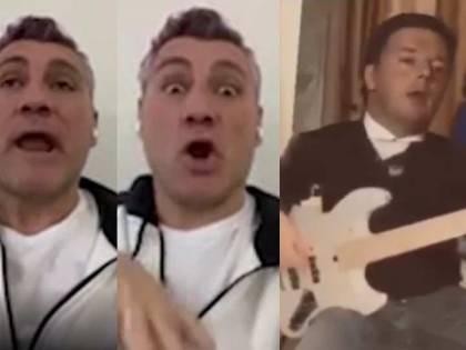 "Bobo Vieri prende in giro Renzi: ""Choc, because..indovinate chi è?"""