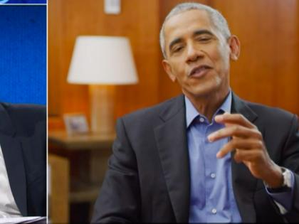 """Le """"lezioni"""" di Obama da Fazio. Così mette nel mirino Trump"""