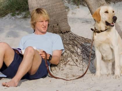 Io e Marley, così sono state realizzate le scene con il labrador