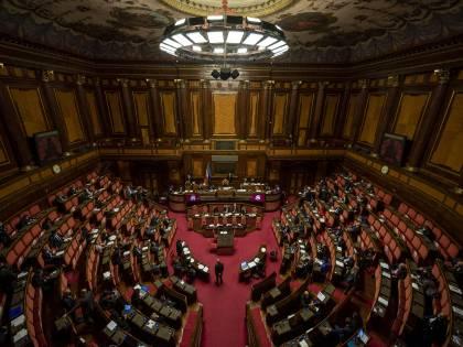 """Maratona al Senato. Draghi incassa la fiducia: 262 i """"sì"""". Ma i """"no"""" sono 40"""