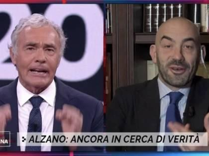 """""""Da lei non lo accetto"""", """"Vado via"""": scontro totale tra Matteo Bassetti e Giletti"""