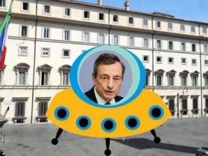 Draghi non faccia la fine del marziano a Roma