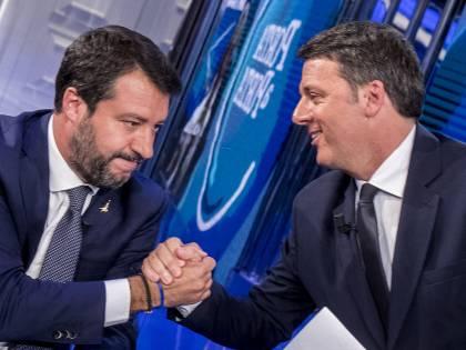 La sponda Salvini-Renzi per demolire il Partito Democratico di Zinga