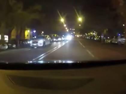 Ladri si schiantano sui carabinieri. Ecco il video choc dall'abitacolo