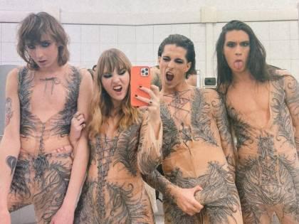 Maneskin, Instagram censura la foto scattata alla finale di Sanremo