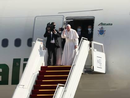 """Il Pontefice: """"Sono stanco ma non smetto di viaggiare"""""""