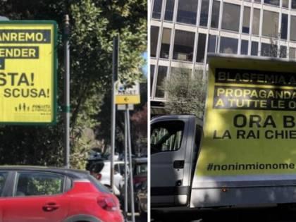 """ProVita: """"A Sanremo gender e blasfemia. La Rai chieda scusa"""""""