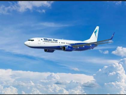 Blue Air, voli quotidiani da Linate per Bucarest e nuova rotta da Cluj