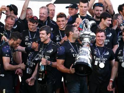 America's Cup: le immagini del trionfo di Team New Zealand