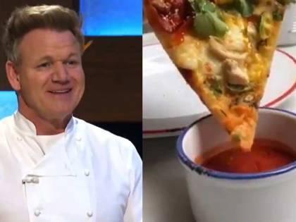 """""""Basta toccare la cucina italiana"""". Rivolta contro la pizza di Gordon Ramsay"""