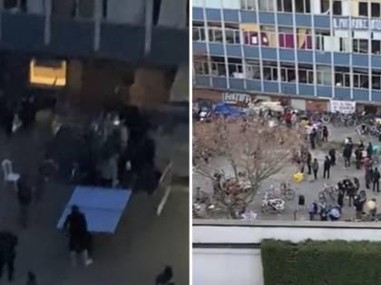 Il 'Covid party' degli okkupanti: ecco il lockdown del centro sociale