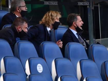 """""""Mio figlio..."""", """"Champions"""". Ed è lite Nedved-Materazzi"""