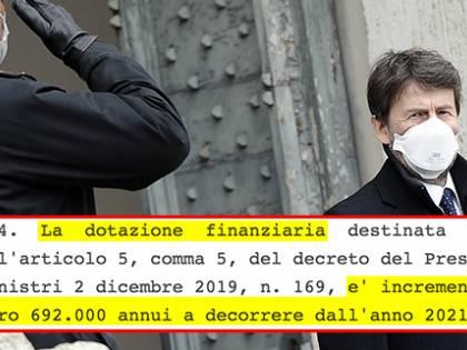 """Lo staff di Franceschini si fa ricco: """"Un aumento di 700mila euro"""""""