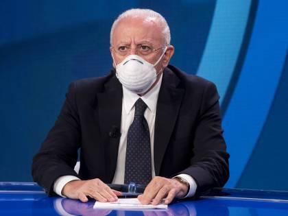 """De Luca fa muro, le Regioni in crisi: """"La campagna da rimodulare"""""""