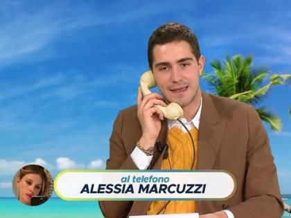 """La Marcuzzi senza freni con Zorzi: """"Ti avrei presso a schiaffi"""""""