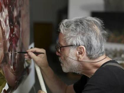 """Luciano Ventrone, tra iper-realismo e """"caravaggismo"""""""