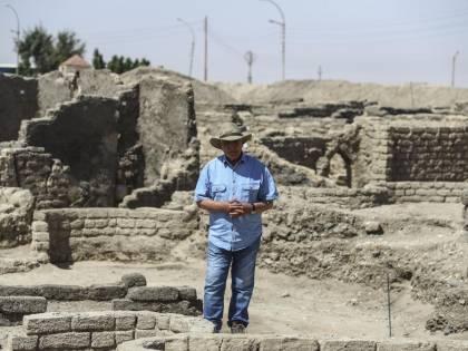 Hawass: così per caso ho scoperto la città perduta