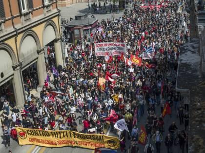 La Liberazione e quella piazza zona franca anti Covid