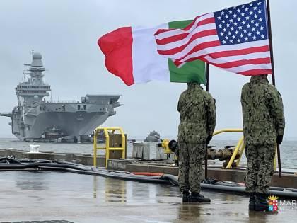 Appontaggio degli F-35 su Nave Cavour