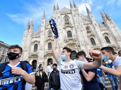 È allarme contagi per la festa Inter. Scontro sui divieti tra Salvini e Sala