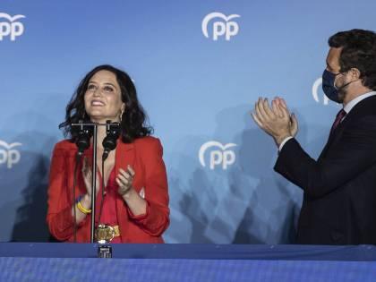 Díaz Ayuso, la giocatrice d'azzardo che spinge Iglesias fuori dalla politica