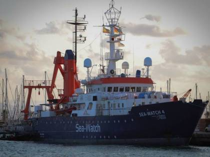 Ribaltata la sentenza del Tar: la Sea Watch 4 torna sotto sequestro