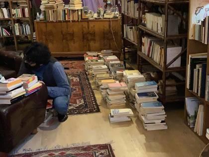 """La biblioteca si fa eterna se è piena di """"libri risorti"""""""