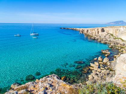 Sicilia: tour delle isole Egadi e del Trapanese